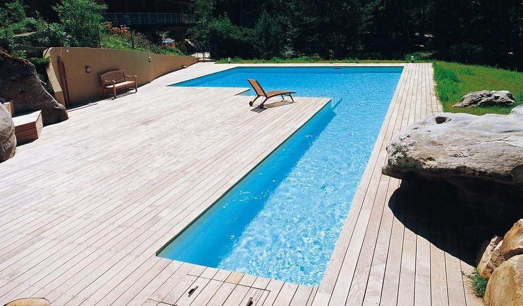 Couloir de nage en l piscines desjoyaux poitiers for Piscine poitiers