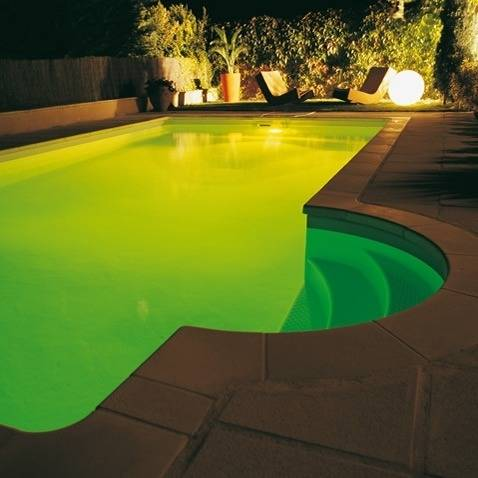 Filtre color projecteur piscine set 3 couleurs for Projecteur piscine