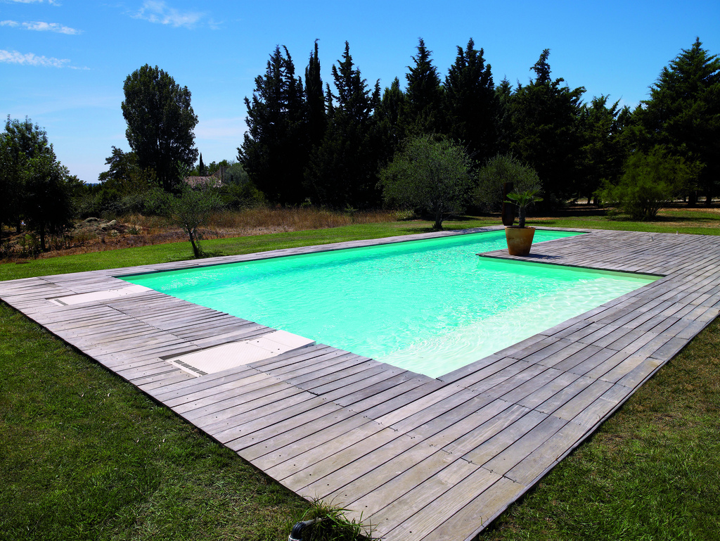 Construction piscine vienne 86 for Piscine structure bois