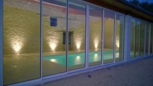 Construction piscine boulais intérieure
