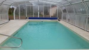 piscine enterree avec abri desjoyaux Vienne 86