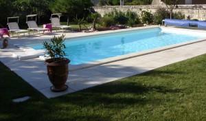piscine kit enterré béton