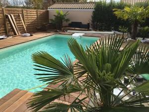 construction piscine paysagée Chasseneuil du Poitou 86