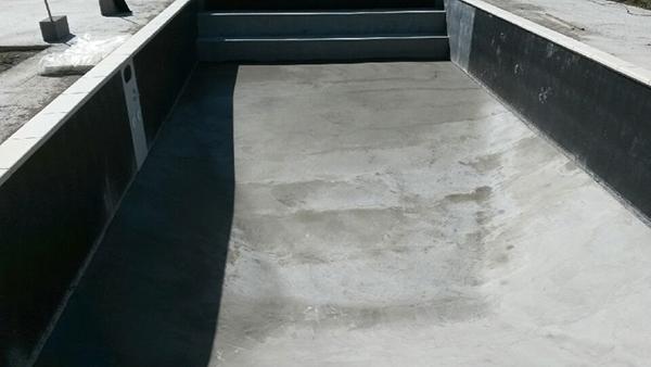 Installation du kit enterré béton Desjoyaux