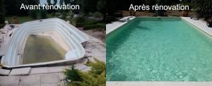 Rénovation piscine coque vienne 86